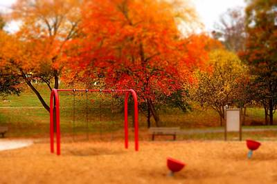 Photograph - Lineberger Park 3 by Rodney Lee Williams