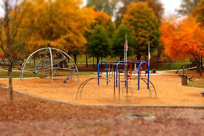 Photograph - Lineberger Park by Rodney Lee Williams