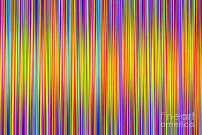 Digital Art - Lines 102 by Bruce Stanfield