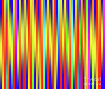 Digital Art - Lines 17 by Bruce Stanfield
