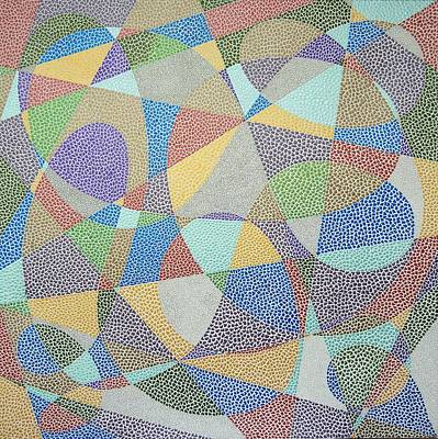Painting - Lines And Curves by Kruti Shah