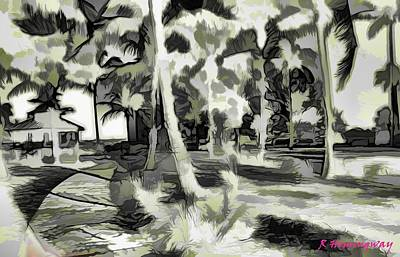 Fort Pierce Photograph - Lines And Forms by Richard Hemingway