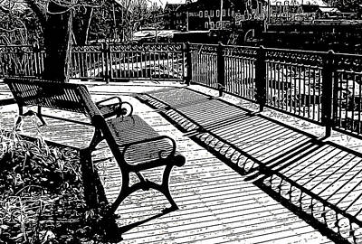 Shelburne Falls Photograph - Lines And Light by Betsy Zimmerli