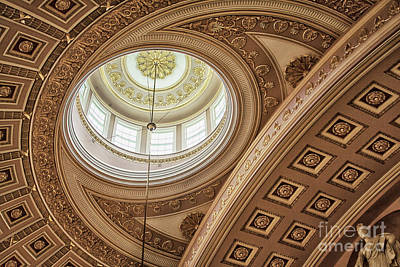 Photograph - Lines And Light In The Capitol by Ruth Jolly