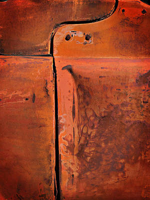 Photograph - Lines And Patina by Bud Simpson