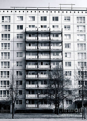 Photograph - Lines In East Berlin by John Rizzuto