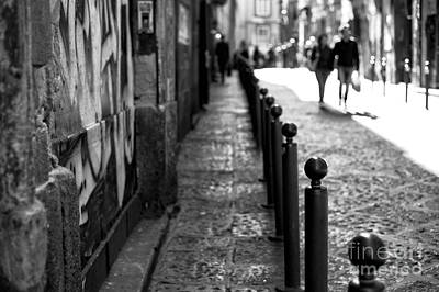 Photograph - Lines In Naples by John Rizzuto