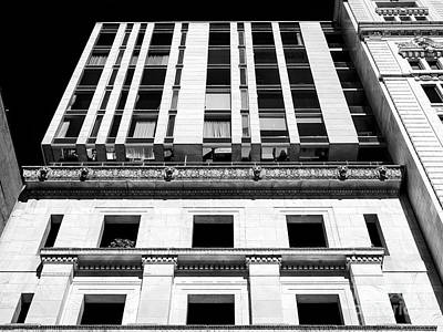 Photograph - Lines In Old Montreal by John Rizzuto