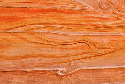 Photograph - Lines In Sandstone by Michael Blanchette