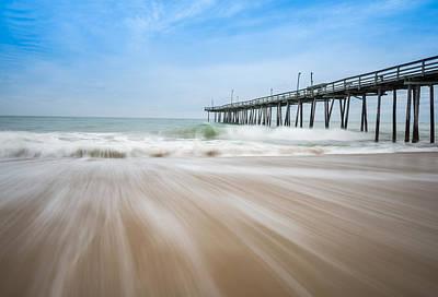 Outer Banks North Carolina Pier  Art Print