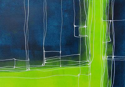 Lines Painting - Lines Lines Five by Louise Adams