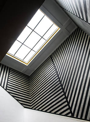 Staircase Photograph - Lines by Luc Vangindertael