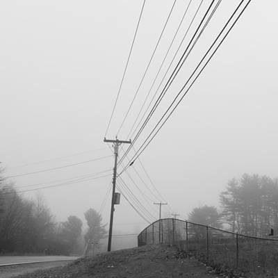 Photograph - Lines Of Communication by Bill Tomsa