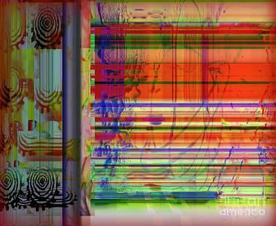 Lines Of Illusion Art Print by Fania Simon
