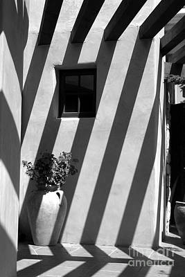 Olla Photograph - Lines Of Shadows by Cathy Gregg
