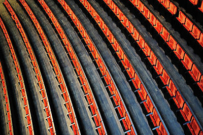Theatre Photograph - Lines by Roman Rodionov