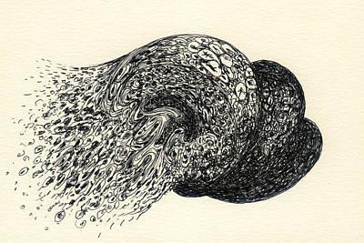 Lines - #ss13dw001 Art Print by Satomi Sugimoto
