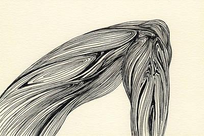 Lines - #ss13dw002 Art Print by Satomi Sugimoto