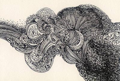 Lines - #ss13dw007 Art Print by Satomi Sugimoto