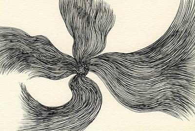 Lines - #ss13dw023 Art Print by Satomi Sugimoto