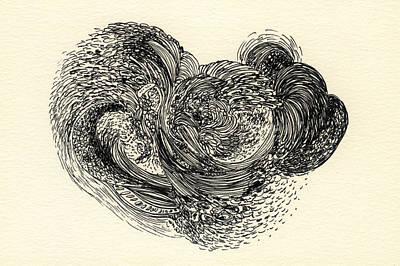 Lines - #ss13dw024 Art Print by Satomi Sugimoto