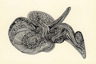 Lines - #ss13dw025 Art Print by Satomi Sugimoto