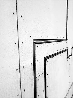 Photograph - Lines,and Dots B W by Rob Hans