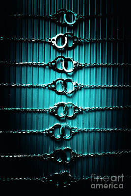 Jail Wall Art - Photograph - Lineup Of Crime And Misconduct by Jorgo Photography - Wall Art Gallery