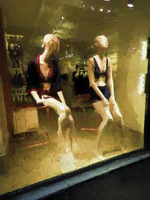 Photograph - Lingerie Shop Venice Italy by Helaine Cummins