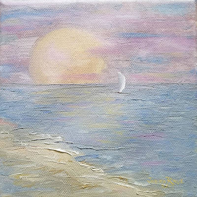 Painting - Lingering Freedom by Judith Rhue