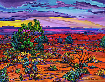 Painting - Lingering Twilight by Alexandria Winslow