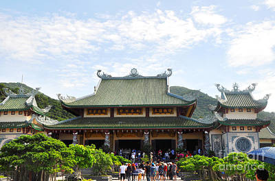 Photograph - Linh Ung Temple Main Hall by Andrew Dinh