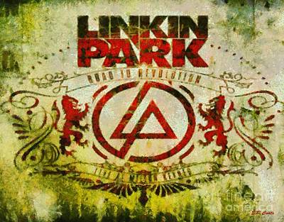 Linkin Park Painting - Linkin Park by Elizabeth Coats