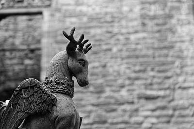 Photograph - Linlithgow Winged Stag by Scott Hill