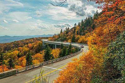 Photograph - Linn Cove Viaduct by Chris Berrier