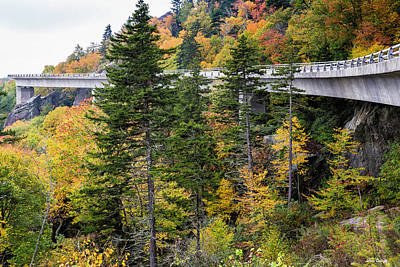 Photograph - Linn Cove Viaduct by Fran Gallogly