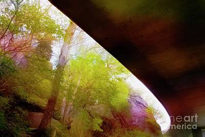 Mixed Media - Linn Cove Viaduct North Carolina by Bob Pardue