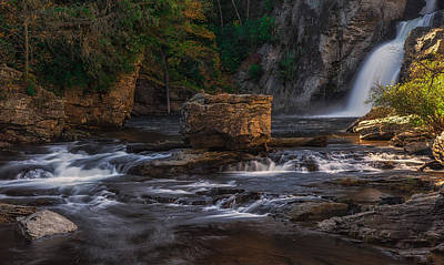 Photograph - Linnville Falls by Reid Northrup