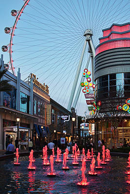 Photograph - Linq Promenade, Las Vegas by Tatiana Travelways