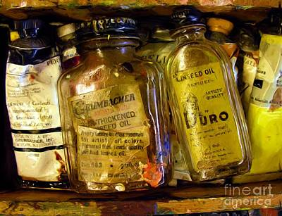 Photograph - Linseed And Oil by Tom Griffithe