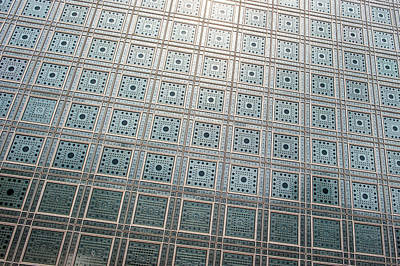 Photograph - L'institut Du Monde Arabe by Helen Northcott
