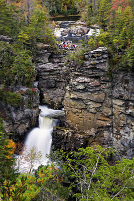 Photograph - Linville Falls by Fran Gallogly