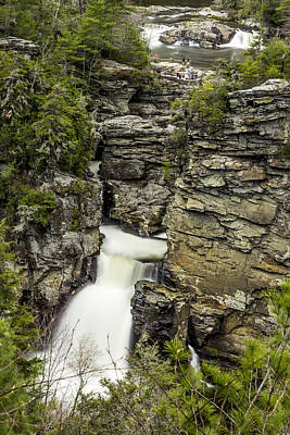 Zen - Linville Falls The Upper View by Stephen Brown
