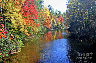 Photograph - Linville River In Autumn by Kevin McCarthy