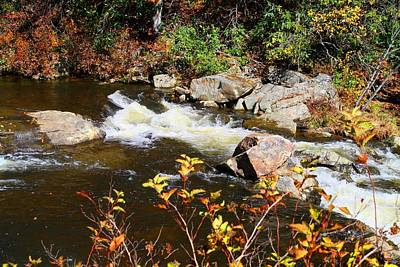 Photograph - Linville River Rapids by Kathryn Meyer
