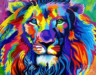 Lion Of Judah Painting - Lion Of Judah by Teshanah Love