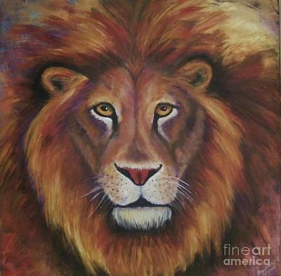 Painting - Lion 2017 by Alga Washington