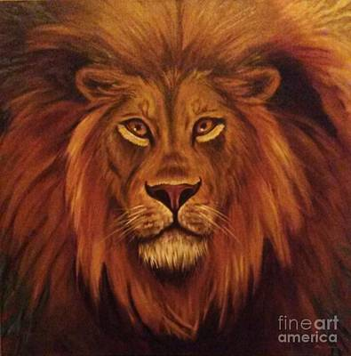 Painting - Lion 2018 by Alga Washington