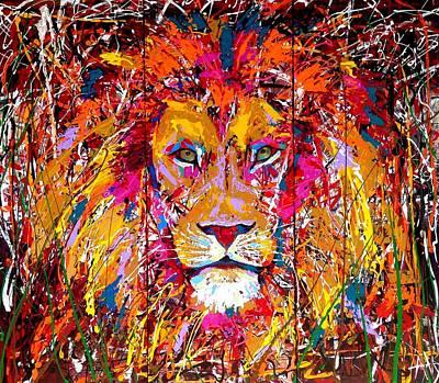 Lion 4 Art Print