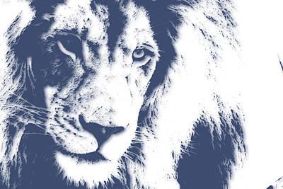 Lion 4 Art Print by Joe Hamilton